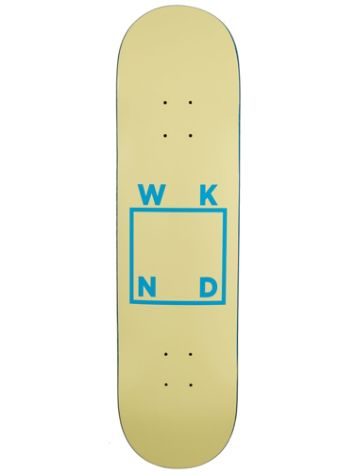 WKND Logo Cream 8.1 Skateboard Deck
