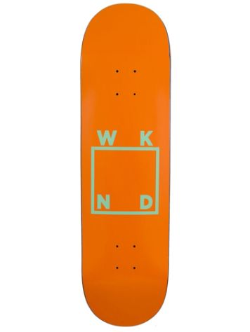 WKND Logo Orange 8.5 Skateboard Deck