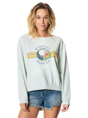 Rip Curl Wave Lines Crew Sweater