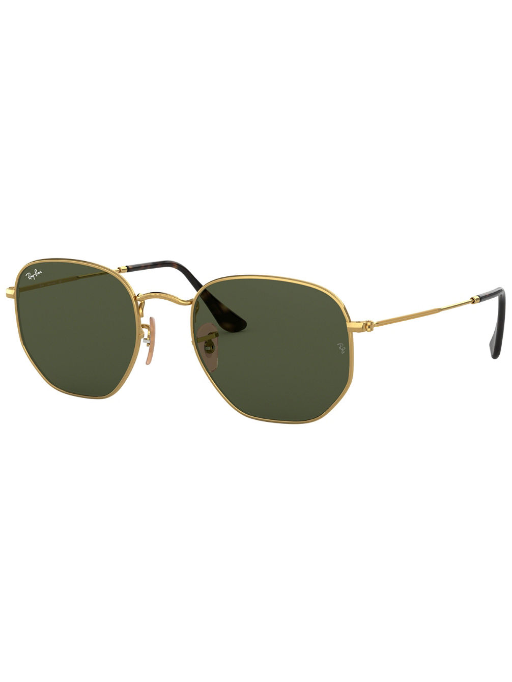 Hexagonal Gold Sonnenbrille