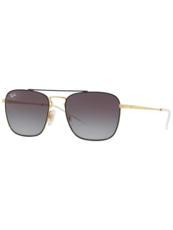 Ray-Ban RB3588 Gold On Top Black Lunettes de Soleil