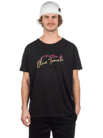 Blue Tomato Mountain Script Camiseta