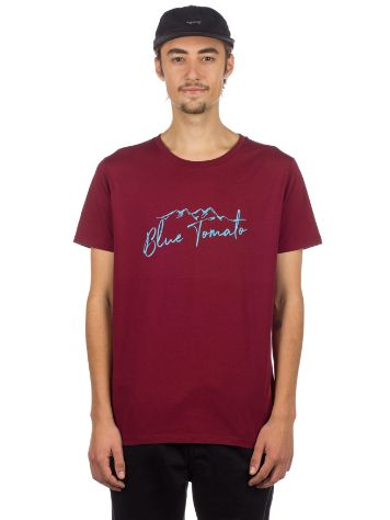Blue Tomato Mountain Script T-Shirt