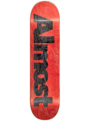 Almost Ultimate Logo R7 8.25 Skateboard Deck