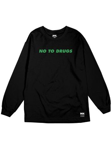 DGK No To Drugs T-Shirt LS