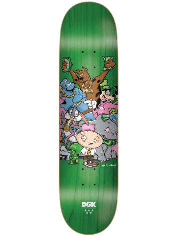 DGK No To Drugs 8.25 Skateboard Deck