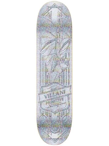 Primitive Villani Raised 8.63 Skateboard Deck