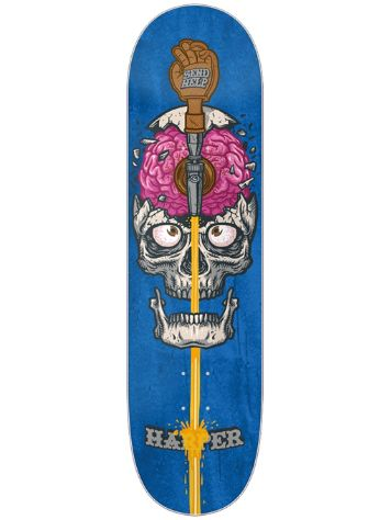 Send Help Harper Brain Drain 8.0 Skateboard Deck