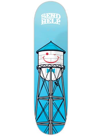 Send Help Smiley 8.5 Skateboard Deck