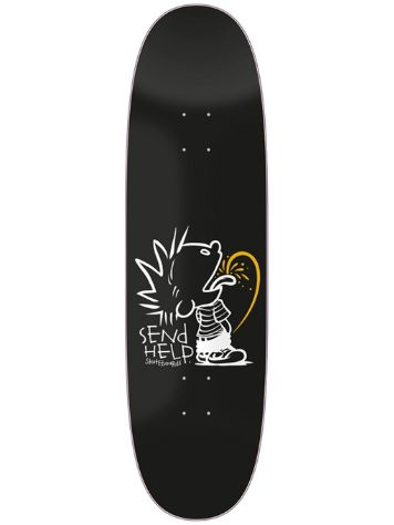 Send Help Tee Tee 90s Shape 9.0 Skateboard Deck