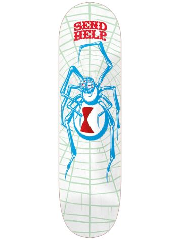 Send Help White Widow 8.5 Skateboard Deck
