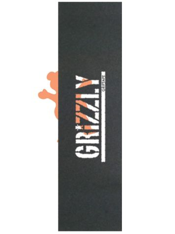Grizzly Black Clear Stamp Griptape