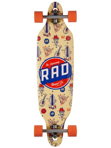 RAD Board Co. Wallpaper Orange 9.5'' Complete