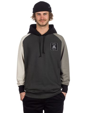 Teddy Fresh Grey Color Block Hoodie