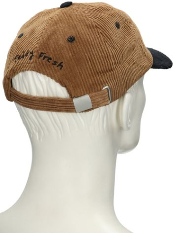 Buy Teddy Fresh Brown Corduroy Two Peds Patch Cap online at blue-tomato.com b782f91092ac