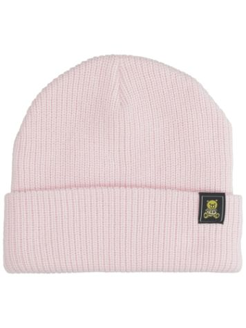 Teddy Fresh Pink Color Block Beanie
