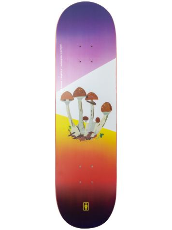 "Girl The Psychedlic Plants 8.5"" Skateboard Deck"