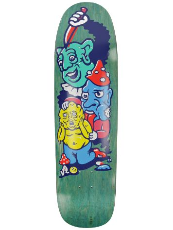 "Polar Skate Paul Grund 8.625"" Meltdown P9 Skateboard Dec"