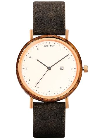 Take A Shot Nana 37mm Walnut Reloj