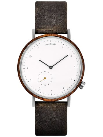Take A Shot George 42mm Walnut Reloj