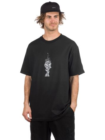 Pass Port Burning Pool Man T-Shirt
