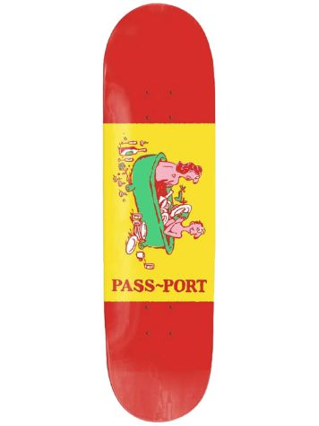 Pass Port Wise Guys Dishes 8.125 Skateboard Deck