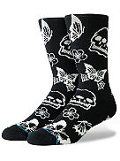 Triple Skull Socks