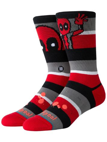 Stance X Deadpool Stripe Socks