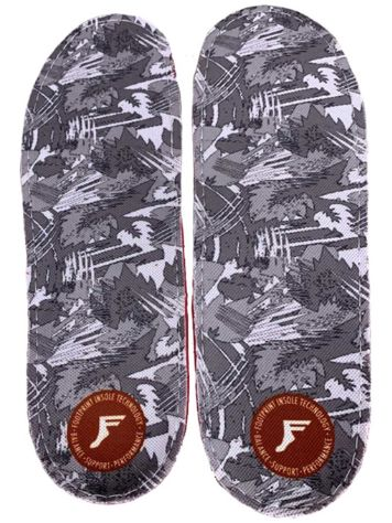 Footprint White Camo PU Gamechanger Insoles