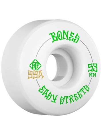 Bones Wheels STF Easy Streets 99A V1 53mm Wheels