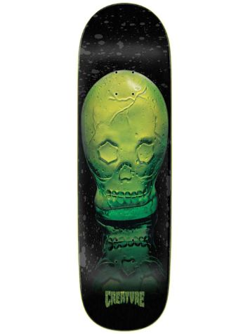 "Creature Green Skull Everslick 8.59"" Skateboard Deck"