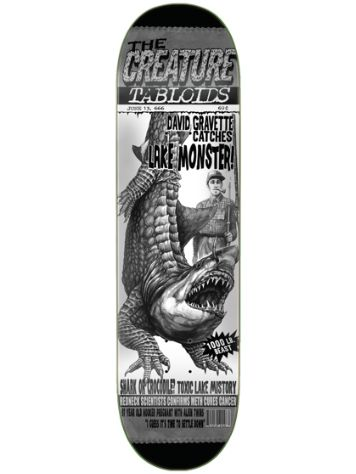 "Creature Tabloid Gravette 9.0"" Skateboard Deck"