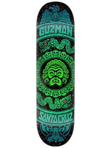 Santa Cruz Guzman Rad Temple Powerply 8.28'' Deck Skate
