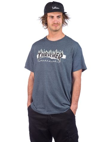 Thrasher Ripped Camiseta
