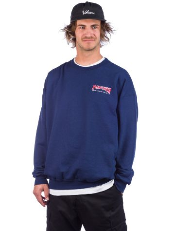 Thrasher Outlined Embroidered Crewneck Sweat