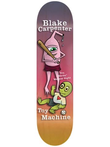 "Toy Machine Valentines Carpenter 8.0"" Skateboard Deck"