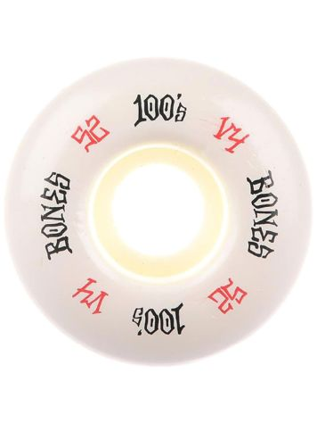 Bones Wheels 100's OG 17 V4 100A 52mm Wheels Wheels