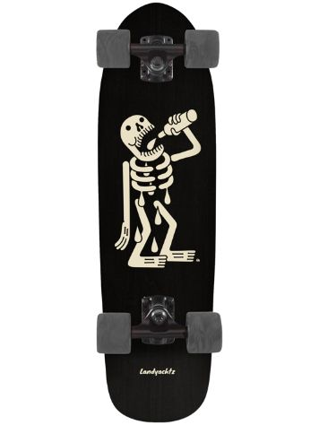 "Landyachtz Dinghy 8.0"" Skeleton Cruiser Complete"