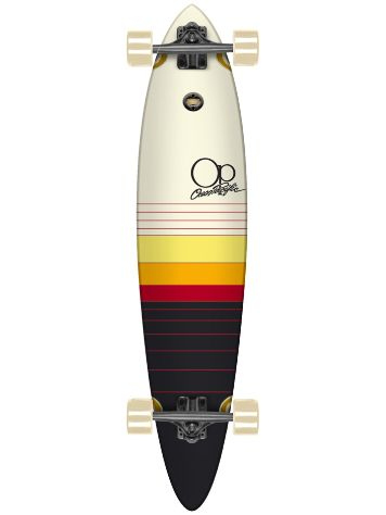 "Ocean Pacific Dawn 8.75"" x 40"" Pin Tail Longboard Complete"