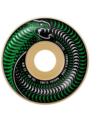 Spitfire Formula 4 101D 53mm Venomous Wheels Slim Whe