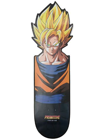 "Primitive X Dragon Ball Z 8.5"" Goku Team CNC Skateboar"
