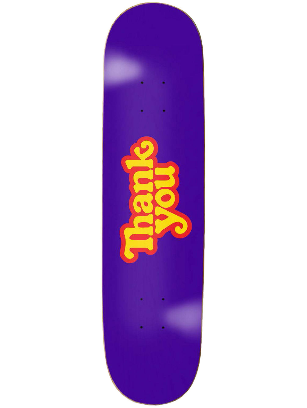 "Logo Purple 8.25"" Skate Deck"