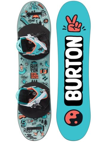 Burton After School Special 90 Snowboard set