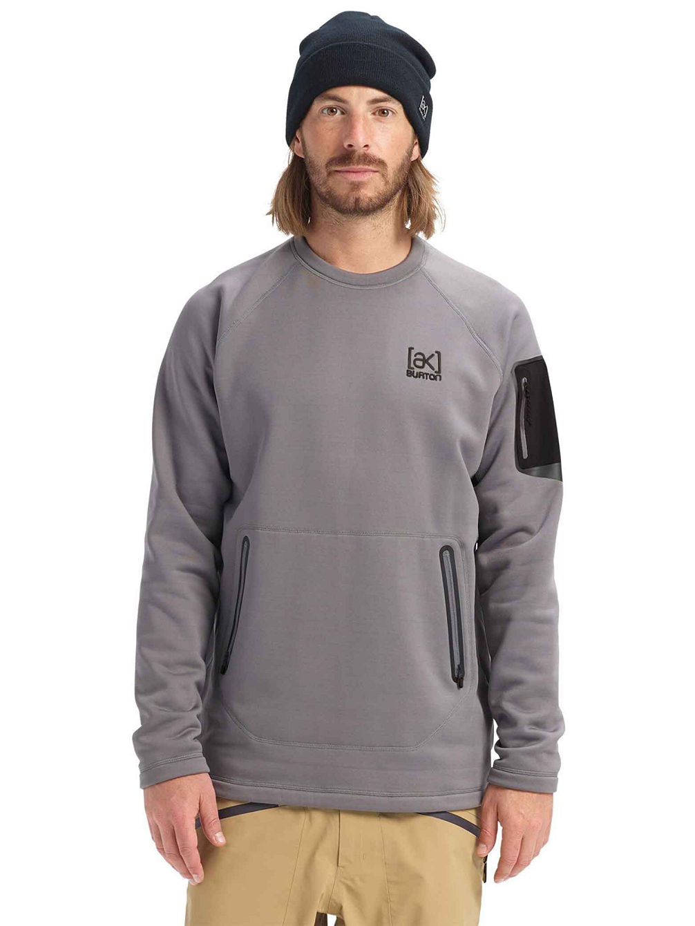ak Piston Crew Fleece Pulover