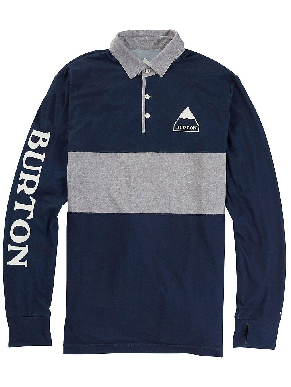 Burton Midweight Rugby Tech Tee LS dress blue