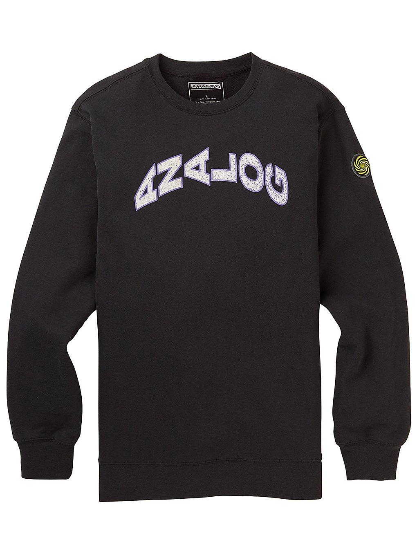 Analog ryker crew sweater harmaa, analog