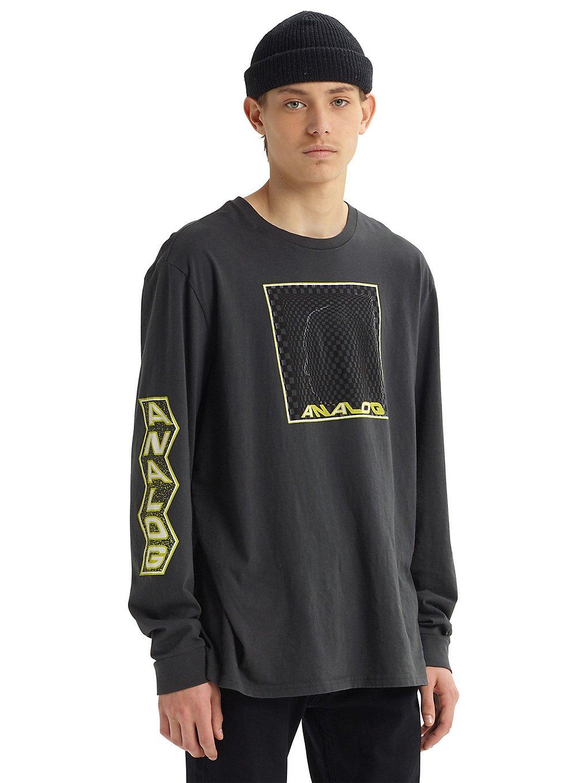 Analog allgate long sleeve t-shirt harmaa, analog