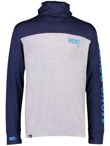 Mons Royale Merino Yotei Powder Tech Tee LS