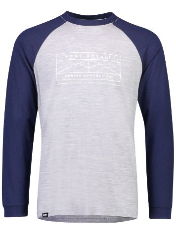 Mons Royale Merino Icon Raglan Tech Tee LS