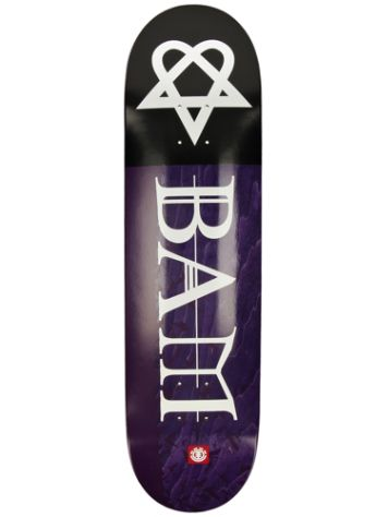 Element Bam Heartagram Bats 8.25 Skateboard Deck